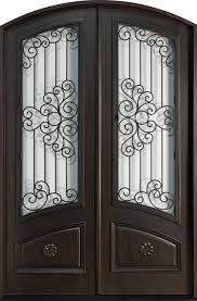 Exterior Wooden Doors With Glass by Furniture Foxy Picture Of Home Exterior And Front Porch