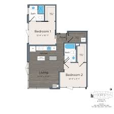 floor plans of leo at waterfront station in washington dc