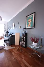 schlicht gehaltenes wohnzimmer in weiß und grau design