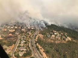 North Bay Fire Report by Major North Bay Wildfires Force Evacuation Of Estimated 20 000