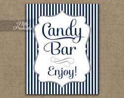Baby Shower Candy Buffet Sign by Candy Bar Sign Pink Chevron Candy Buffet Sign Printable