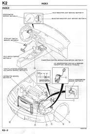 where is the ecu on the mazda 626 4cyl 1993 2002 2l i4