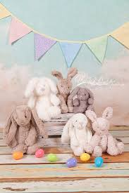 easter backdrops bunnies easter backrop and prop options lenhart