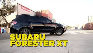 pimped subaru forester subaru forester xt youtube