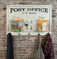 Wall Hanging Mail Organizer Wall Mounted Mail Organizer Post Office Home Organizer