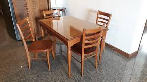 Teak Wood Dining Tables Classifieds Teak Wood Dining Table Set Articles Misc Office