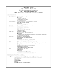 resume setup samples resume setup example job resume templates