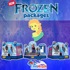 bounce house rentals houston disney frozen moonwalk bounce house rentals in houston