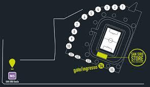 stadio san siro ingresso 8 store stadio san siro
