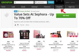 up to 70 off value makeup sets at sephora with groupon coupons