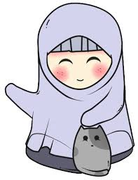 Asnawihassim Doodle Freebies Doodle Muslimah And Cat Doodles
