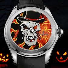 Halloween Usa Ann Arbor Corum Bubble Spookies Watches For Halloween 2016 Luxois