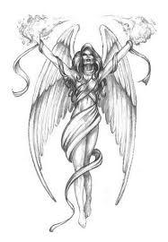 differentstrokesfromdifferentfolks angel with wing tattoos designs