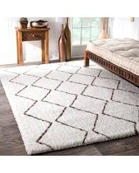 find the best deals on nuloom handmade moroccan trellis shag rug