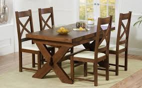 Dark Wood Dining Table Sets Great Furniture Trading Company - White and wood kitchen table