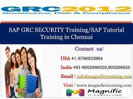 sap tutorial ppt ppt sap grc security training sap tutorial training in chennai