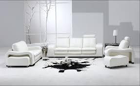 White Leather Recliner Sofa Set White Leather Recliner Sofa Set Modern U0026 Contemporary
