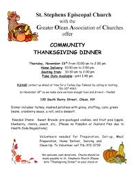 100 volunteer to serve thanksgiving dinner everyone welcome