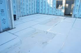 sub slab insulation with superior walls greenbuildingadvisor com