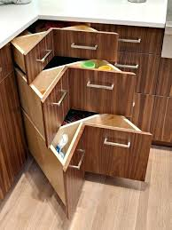 Kitchen Blind Corner Solutions Blind Corner Kitchen Cabinet Solutions Uk Drawer Dimensions
