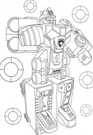 awesome power ranger robot coloring pages super heroes coloring