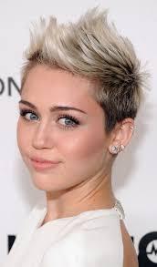 short quiff hairstyle ladies color