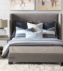 Eastern Accents Bed Thom Filicia Luxury Bedding By Eastern Accents Wainscott Denim