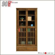 dvd cabinets with glass doors ms 1 rakuten global market bookcase solid board 90 width shelf