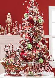 ideas small decorative trees for mantle chritsmas