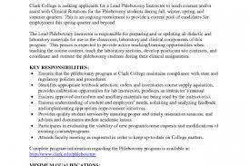 entry level phlebotomy resume phlebotomist cover letter mobile