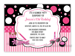 10th birthday party invitation wording cimvitation