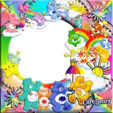 care bear ploppers scrapbook flair challenges