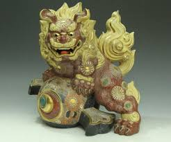 shishi statue supreme marble fudogs statue carving sculpture marble dog fu dog