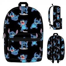 disney lilo u0026 stitch print backpack bioworld kirin