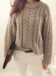 cable knit sweater womens cable knit jumper womens crochet and knit