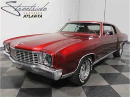 Monte Carlo 2 Door 1972 Chevrolet Monte Carlo For Sale On Classiccars Com 12 Available