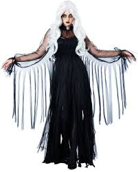zorro woman halloween costume vengeful spirit women u0027s ghost costume hooded black ghost robe