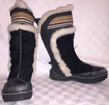 s yeti boots fur pull on mukluks yeti boots for ebay