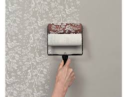 how to do home decoration get the wallpapered look with patterned paint rollers diy home