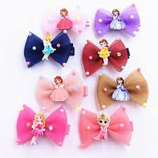 children s hair accessories korean hair accessories hair snow white bowknot hairpin