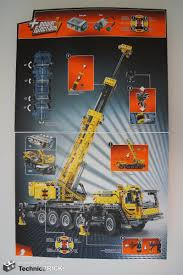 technicbricks tbs techreview 26 u2013 42009 mobile crane mk ii