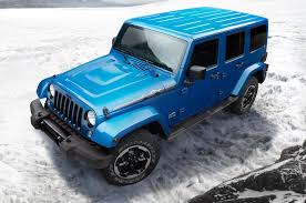 jeep wrangler unlimited sport blue 2014 jeep wrangler polar edition hits north america