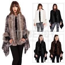 boutique womens faux fur cape new la s luxuriously super soft