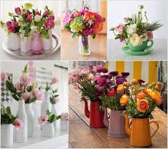 Table Vase Decorations 12 Beauteous Recycled Flower Vase Ideas
