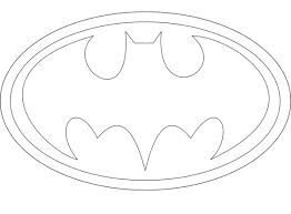 coloring pages winsome batman logo coloring pages di48xe6ie
