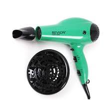 revlon 1875 watt volume ionic green hair dryer walmart com