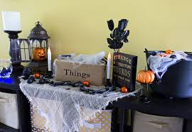 how to design a halloween display on a budget athomestores