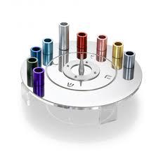 where to buy a dreidel saturn menorah and silver dreidel set cowan designer