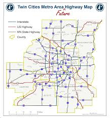 Minnesota State Fair Map Introducing The Twin Cities Metro Area Future Highway Map Streets Mn