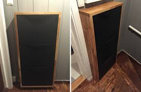 wall mounted shoe cabinet how to use ikea products to build shoe storage systems